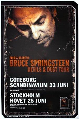 Concert poster from Bruce Springsteen - Scandinavium, Göteborg, Sweden - 23. Jun 2005