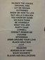Setlist photo from Chris Cornell - O2 Academy Birmingham, Birmingham, United Kingdom - 4. Sep 2007