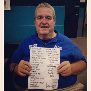 Setlist photo from Pearl Jam - DCU Center, Worcester, MA, USA - 16. Oct 2013